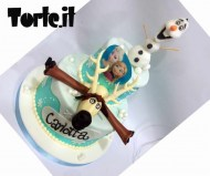 Frozen Friends cake